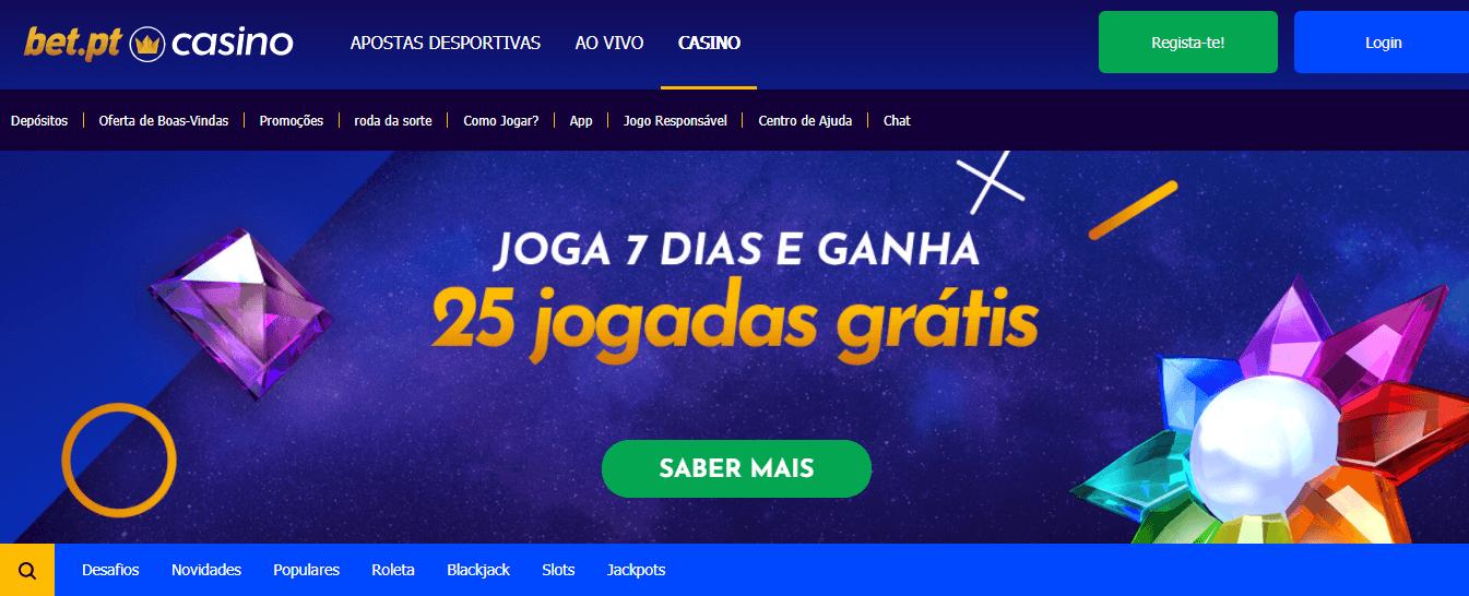 Bónus Mensal Casino Bet.pt
