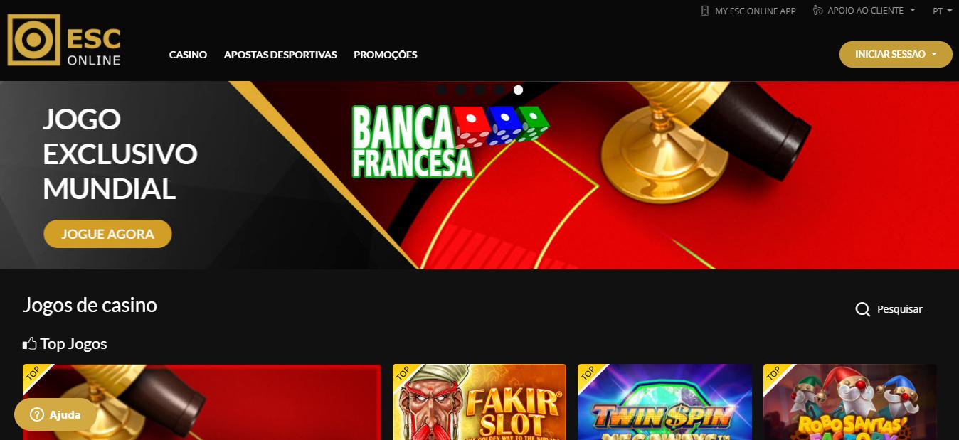 ESC Online Homepage