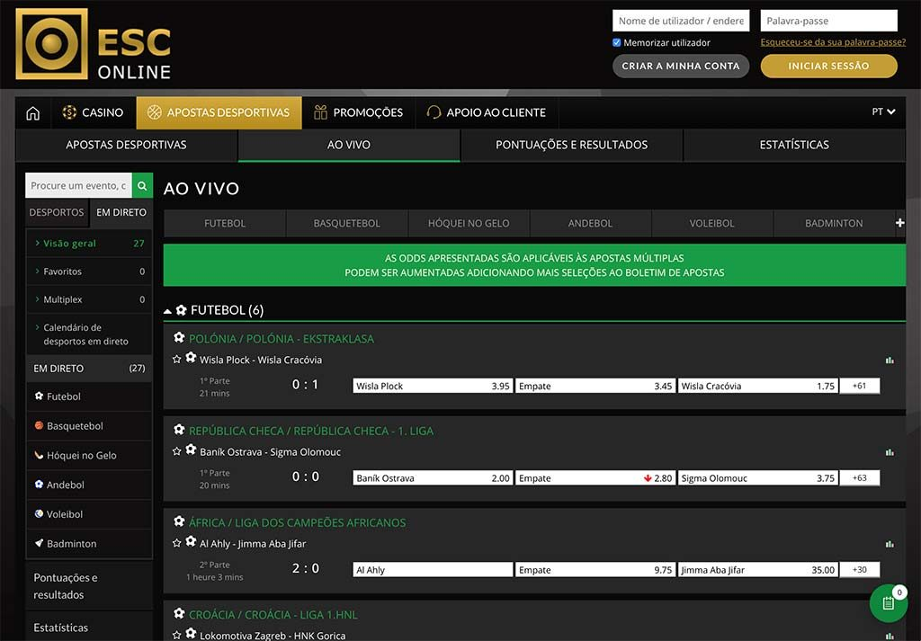 Casa apostas online portugal