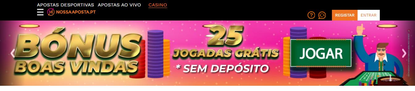 Bónus Casino Nossa Aposta
