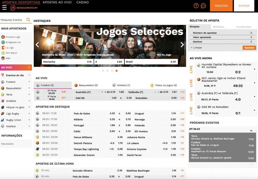Casas legais de apostas em portugal