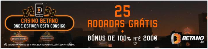 Bónus Casino Betano