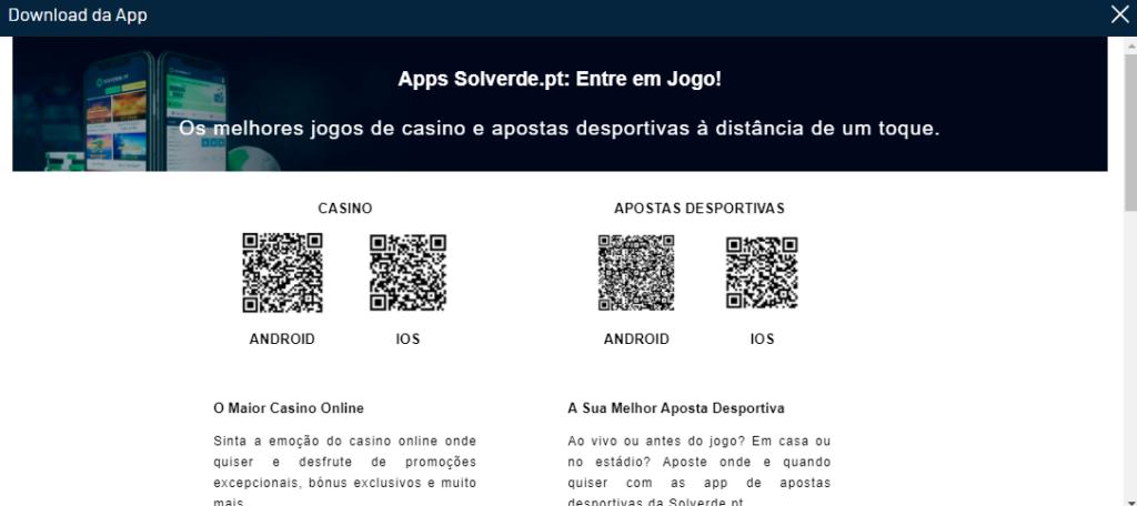 Solverde Online App Qr Code